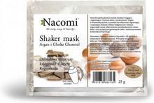 Nacomi Shaker mask Argan i Glinka Ghassoul 25g