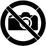 SZABLONERIA Szablon do malowania Znak Zakaz fotografowania- 15x15 cm