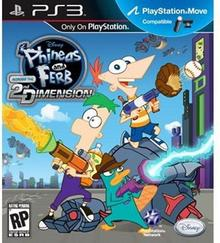 Phineas and Ferb Across 2nd Dimension PS3