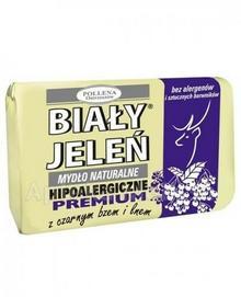Pollena Hipoalergiczne mydło naturalne PREMIUM z czarnym bzem i lnem 100 g