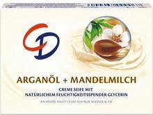 Lornamed CD Lornamead GmbH Pielęgnacyjne Mydło w kostce z Olejkiem Arganowym i Mleczkiem