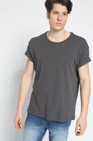 Review T-shirt Superboxy Slub grafitowy 10745302344