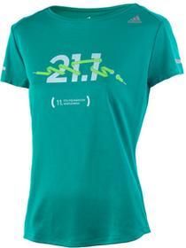 adidas koszulka do biegania damska RUN TEE 11. PZU Półmaraton Warszawski / AX7544 Ona EXTRA-379/XS
