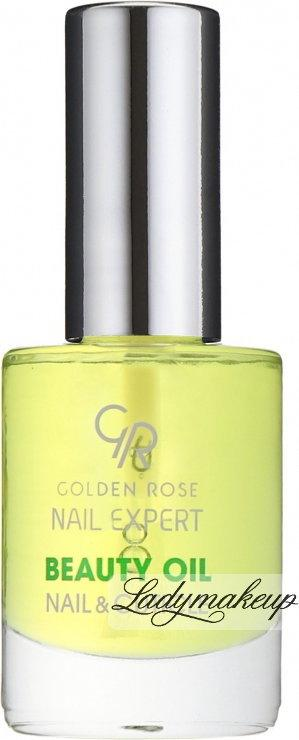 Golden Rose Nail Expert - BEAUTY OIL NAIL & CUTICLE - Olejek odżywczy do skóre