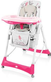 Baby Design BAMBI krzesełko PINK 08 37182