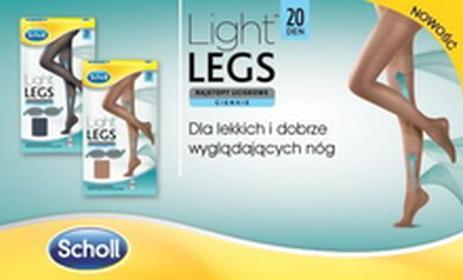Scholl Light Legs rajstopy uciskowe 20 DEN czarne XL 9073227