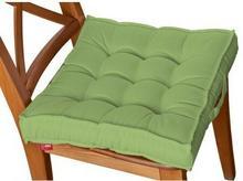 Dekoria Siedzisko na krzesło Kuba na krzesło, jasna zieleń, 50x50x10cm, Jupiter