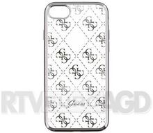 Guess Etui iPhone 7 silver 4G Transparent GUHCP7TR4GSI