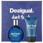 Desigual Dark Fresh woda toaletowa 100 ml + balsam po goleniu 100 ml