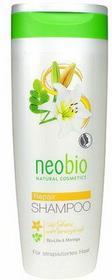 Neobio Natural Cosmetic, Niemcy Szampon do włosów zniszczonych z wyciągiem z lil