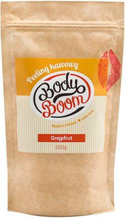Body Boom BodyBoom Peeling kawowy Energetyczny grejpfrut 200g