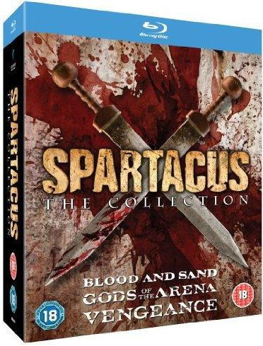 Spartacus: The Collection (EN) [BOX] [10xBlu-ray]