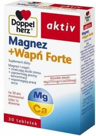 Queisser Pharma Doppelherz Aktiv Magnez + Wapń Forte 30 szt.