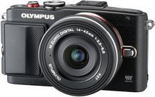 Olympus E-PL6 + 14-42 II kit czarny
