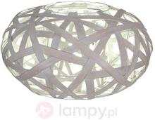 Näve Gustowna drewniana lampa stołowa Korbys