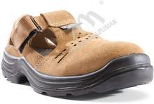 Kegel-Błażusiak obuwie Sandał roboczy bezpieczny S1+P KOMFORT brązowy