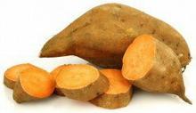 ŚWIEŻE (owoce i warzywa) - tacki i sztuki BATATY ŚWIEŻE BIO (siatka ok. 1,00 kg)
