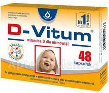 Oleofarm D-Vitum witamina D dla niemowląt 48 szt.