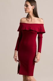 Missguided Sukienka DE909656 czerwony