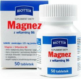 Diagnosis Magnez z witaminą B6 50 szt.