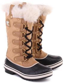 Sorel Tofino - Brązowe Canvasowe Śniegowce Damskie - NL 1937-374