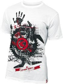 Kellys Koszulka T-shirt ADRENALINE white