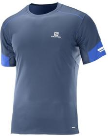 SalomonKoszulka do bieganai męska Agile SS Tee M 392612.M/BLUE