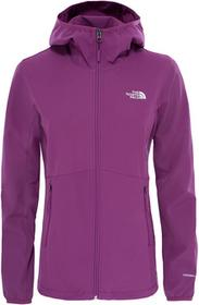 The North Face Kurtka softshell NIMBLE HOODIE WOMEN wood violet
