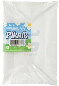 Piknik Tacki papierowe prostokątne 20 szt.