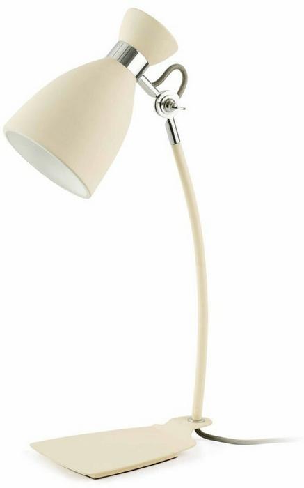 Faro Barcelona Retro Lampa stołowa Beżowy, 1-punktowy 20003
