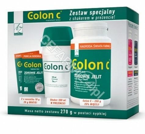 A-Z Medica Colon C Zestaw z shakerem 270 g 3143861