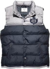 K1X Pa Vest Dark Grey Heather/Navy (8486)