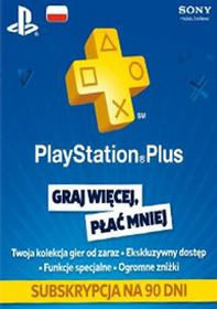 PlayStation Network Plus 90 dni subskrypcja