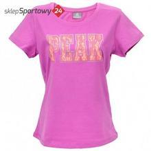 T-Shirt DAMSKA F652358 FUKSJA /PEAK 63170-63174