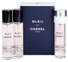 Chanel Bleu de 3 x 20 ml uzupełnienie woda toaletowa