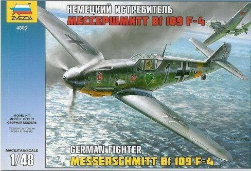 Zvezda 4806 Messerschmitt Bf-109 F4