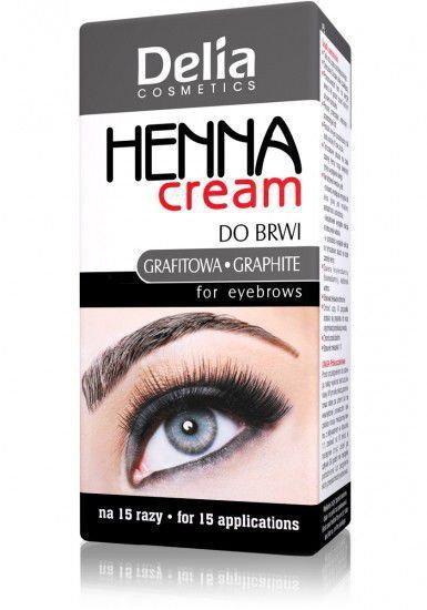 Delia Cosmetics Henna W Kremie Do Brwi I Rzęs Grafitowa Ceny Dane