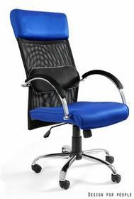 Unique Fotel biurowy OVERCROSS niebieski (W-62-7)