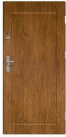 O.K. Doors Drzwi zewnętrzne stalowe pełne Apollo 90 prawe winchester