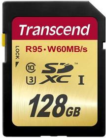 Transcend SDXC Class10 UHS-I U3 128GB