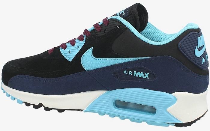 ... Nike Air Max 90 Lthr 768887-400 wielokolorowe ... 3df1fb86cb1