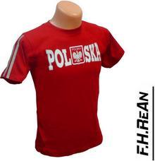 koszulka POLSKA - 100% BAWEŁNA!! rozm.74cm-152cm