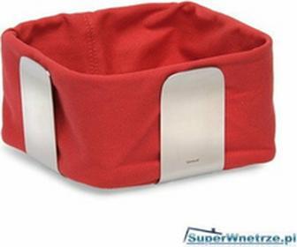 Blomus Bawełniany wkład do koszyka na pieczywo Desa duży czerwony 63471