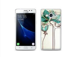 Etuo.pl Fantastic Case - Samsung Galaxy J3 (2017) - etui na telefon Fantastic Case - akwarelowy kwiat ETSM456FNTCFC006000