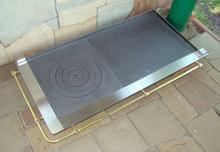 Polska 309 30953264 Kompletny zestaw do budowy grilla z ramą ze stali nierdzewne
