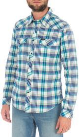 Lee Koszula 643TEAE niebieski i odcienie niebieskiego