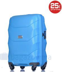Puccini Mała walizka kabinowa MIAMI PP011C 7 Błękitna - błękitny