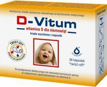 Oleofarm D-Vitum witamina D dla niemowląt 36 szt.