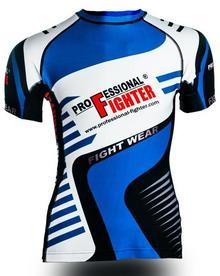 koszulka treningowa termoaktywna męska Rashguard Akira Professional Fighter - cz