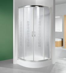 Sanplast TX KP4/TX5b-90 90x90 profil srebrny błyszczący szkło Cora 600-271-0061-38-370